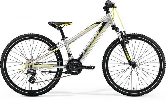Bicicleta MERIDA Matts J.24 24' (11.5') Argintiu (Verde/Negru) 2019