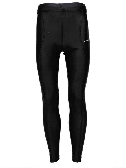 Pantaloni lungi ciclism CROSSER CW-597 negru/albastru L