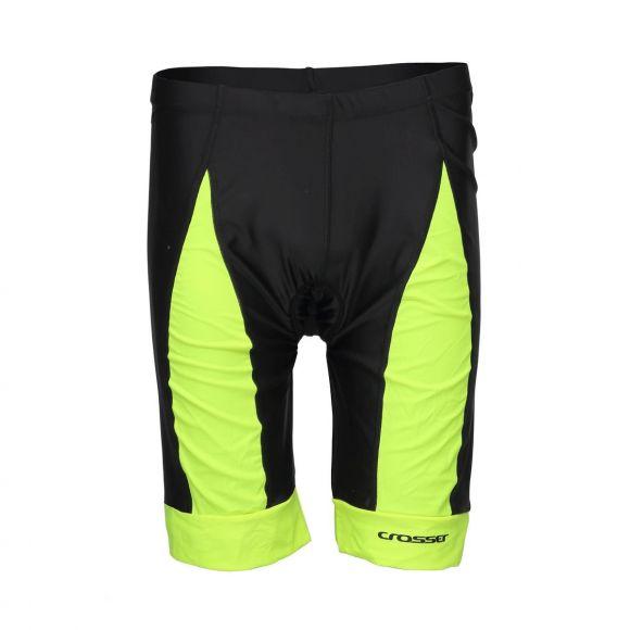 Pantaloni scurti CROSSER CW-17-106 cu bazon - Negru/Albastru L