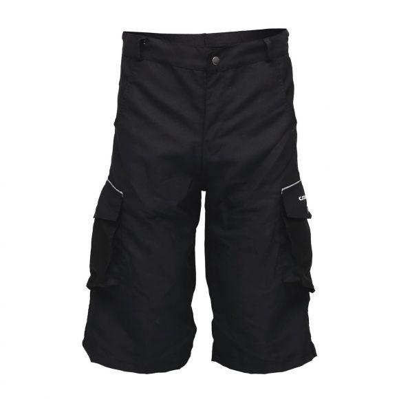 Pantaloni scurti ciclism CROSSER CW-598 cu bazon negru L