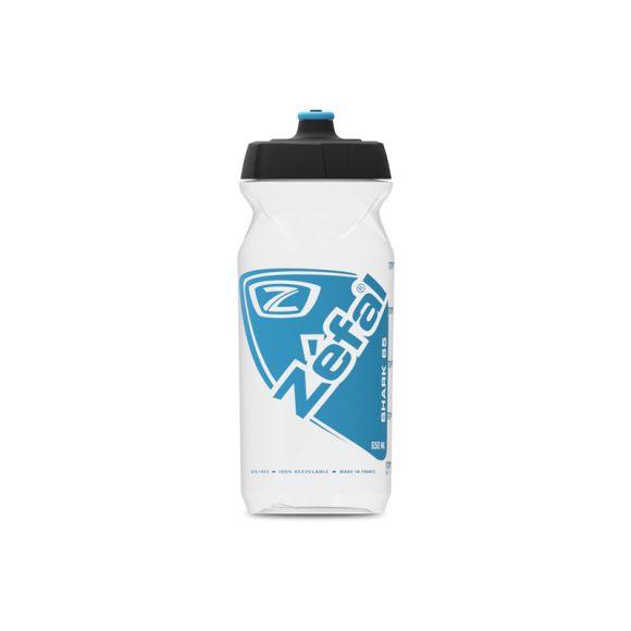 Bidon ZEFAL Shark 65 Transparent Albastru deschis