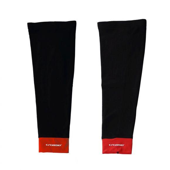 Incalzitoare picioare CROSSER CW-617 negru/rosu L
