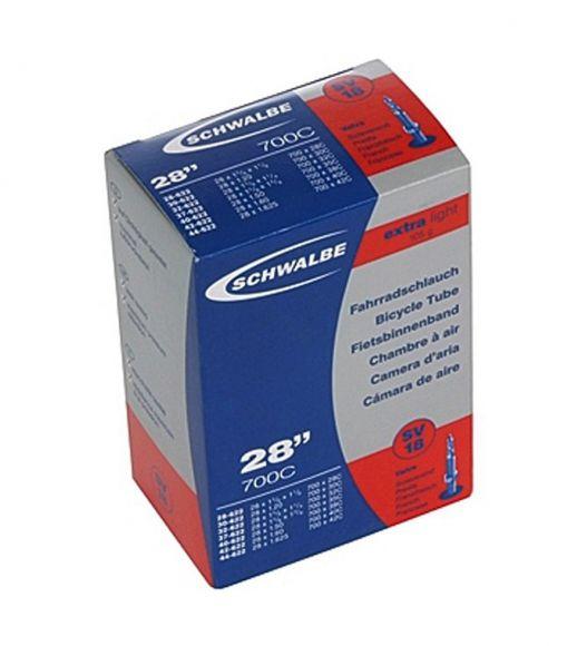 Camera SCHWALBE SV18 EXTRA LIGHT 28''(28/44-622) EK 40mm
