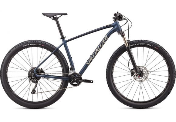 Bicicleta SPECIALIZED Rockhopper Expert 2X 29 Satin Navy/Gloss White Mountains/Black M