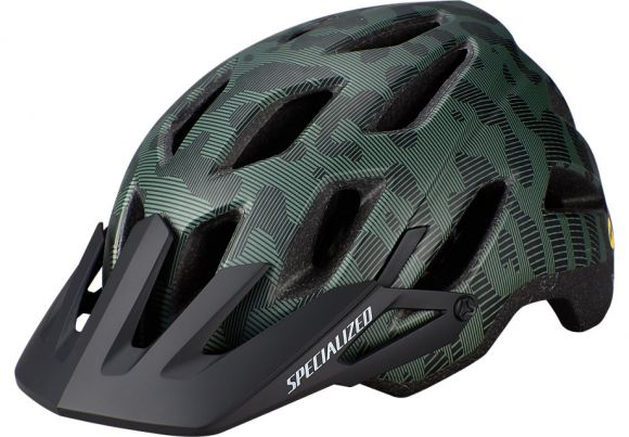 Casca SPECIALIZED Ambush Comp MIPS with ANGi - Sage Green/Black Terrain M
