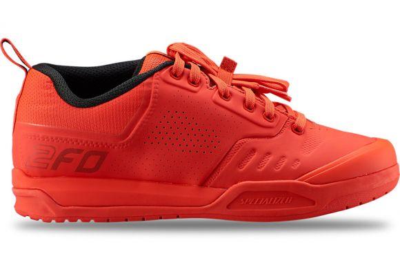 Pantofi ciclism SPECIALIZED 2FO Clip 2.0 Mtb - Rocket Red 44