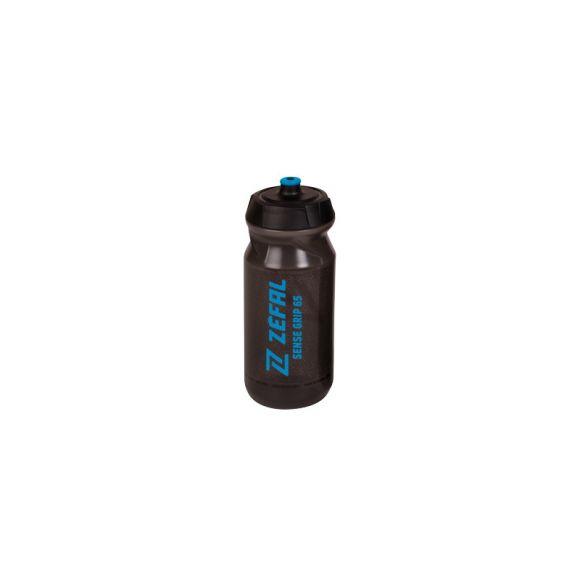 Bidon ZEFAL Sense Grip 65 negru transparent/albastru