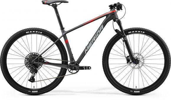 Bicicleta MERIDA Big.Nine 3000 XL Negru|Rosu 2020