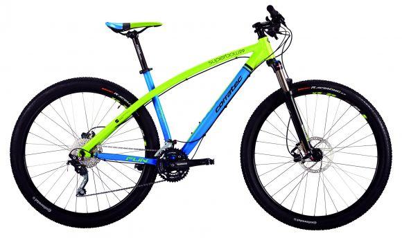 "Bicicleta CORRATEC SuperBow Fun 29"" Albastru / Verde 490mm"