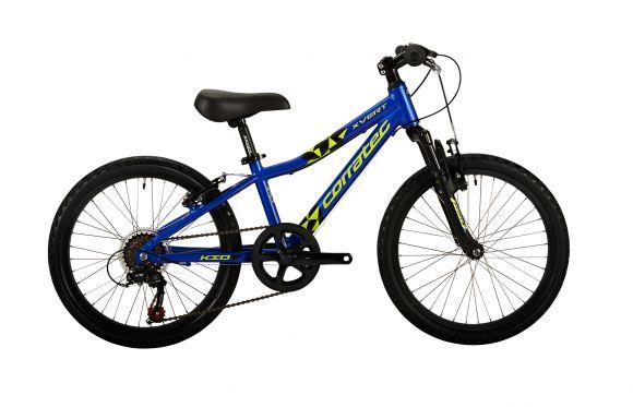Bicicleta CORRATEC X-Vert Kid 20'' albastru reflex/galben neon/negru