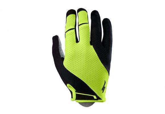 Manusi SPECIALIZED Body Geometry Gel LF - Black/Neon Yellow XL