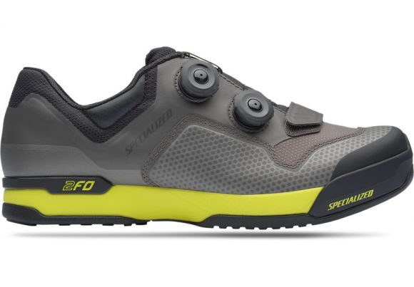 Pantofi ciclism SPECIALIZED 2FO ClipLite Mtb - Charcoal/Ion 46