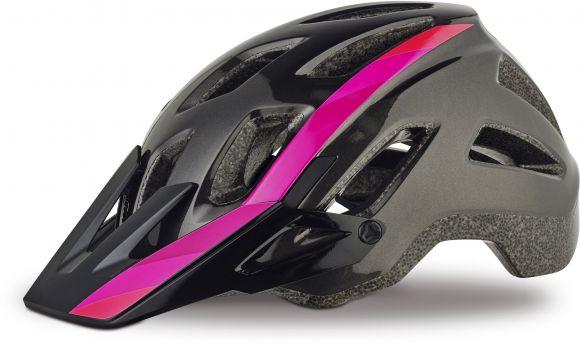 Casca SPECIALIZED Ambush Comp Gloss - Acid Pink/Linear Fade M
