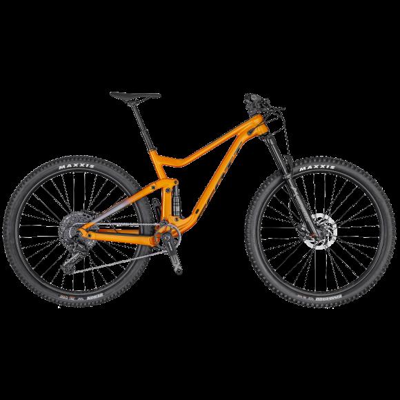 Bicicleta SCOTT Genius 960 Portocaliu/Gri M 2020