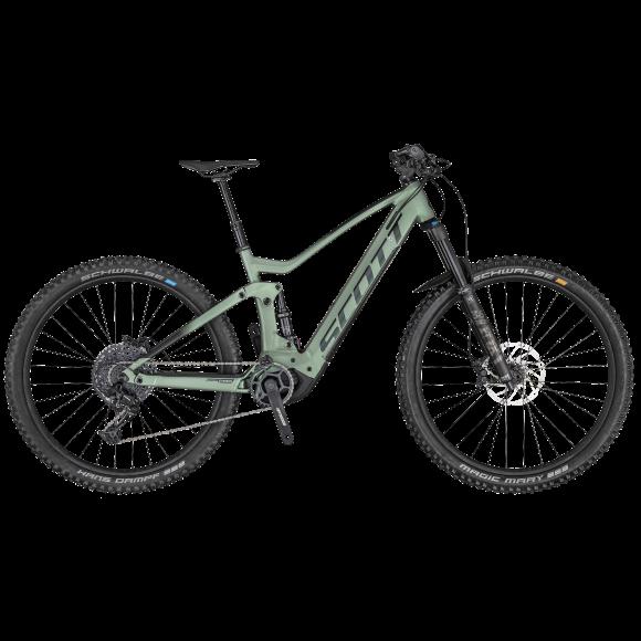 Bicicleta SCOTT Genius eRide 920 Verde/Negru M - 2020