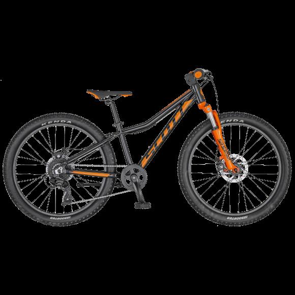 Bicicleta SCOTT Scale 24 Disc Negru/Portocaliu 2020