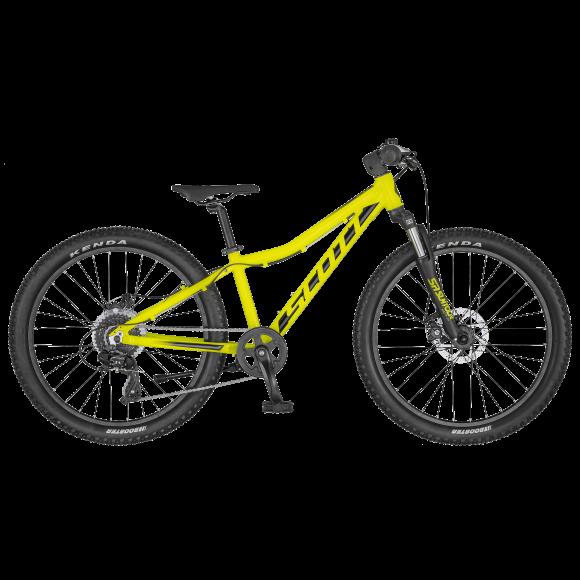 Bicicleta SCOTT Scale 24 Disc Galben/Negru 2020