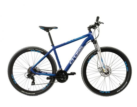 "Bicicleta CROSS Grip 7 29"" Albastru 480mm"