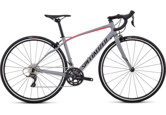 Bicicleta SPECIALIZED Dolce - Cool Gray/Acid Pink 57