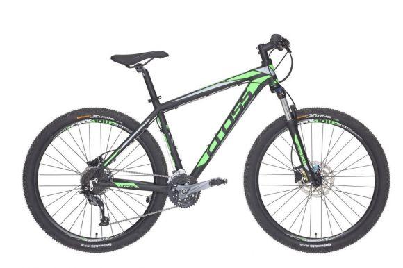Bicicleta CROSS Grx 927 27.5 Negru/Verde/Gri 510mm