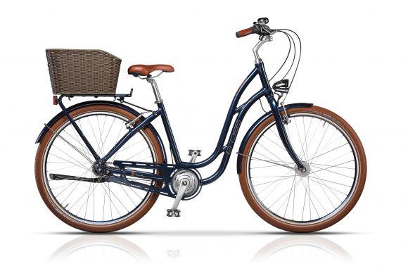 Bicicleta CROSS Picnic Pro 28'' Albastru/Maro 430mm