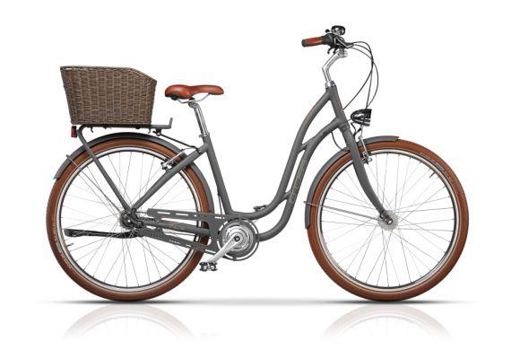 Bicicleta CROSS Picnic Pro 28 Gri/Maro 430mm