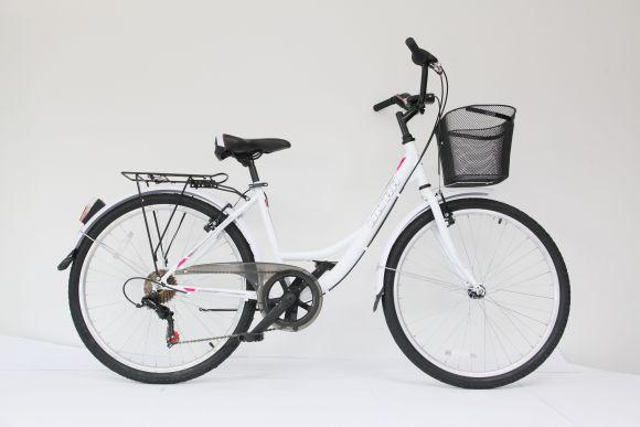 Bicicleta ULTRA Tonus CTB 26'' alb 420mm