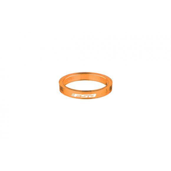 "Distantiere furca FSA Polycarbonat 1 1/8"" 5mm (H2307) 10buc Orange"