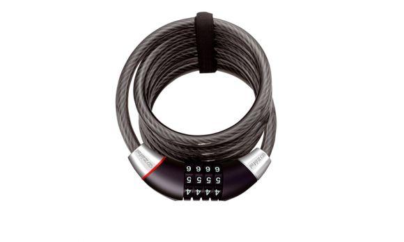 Incuietoare cablu ZEFAL K-Traz C12 185cm/12mm - cifru