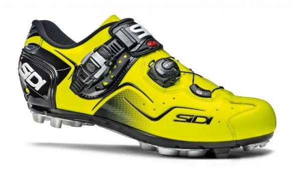 Pantofi ciclism SIDI Cape Mtb galben fluo 42