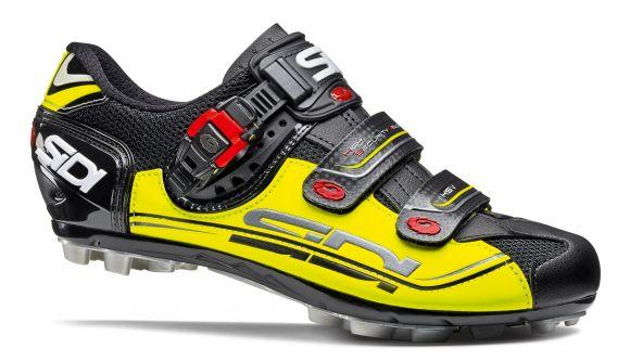 Pantofi MTB SIDI Eagle 7 negru/galben/negru 45