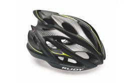 Casca RUDY PROJECT Windmax 54-58 Sm Bk Yellow Fluo