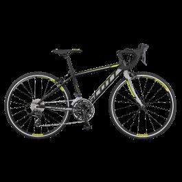 Bicicleta SCOTT 24 Speedster Jr Bk Grey Yellow 2017