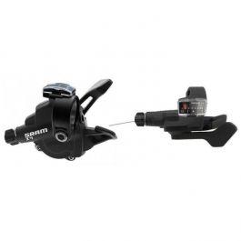 Manete Schimbator SRAM X.4 Trigger, Set 3x8 viteze, negru