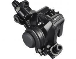 Etrier Frana Mecanica SHIMANO Altus BR-M375 SM-MA-F180p/s cu adaptor pt disc 180 (negru)