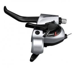 Maneta schimbator/frana SHIMANO Tourney ST-TX800-L EZ-Fire Plus - 3 viteze / V-brake