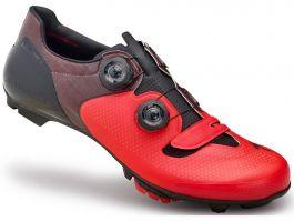 Pantofi ciclism SPECIALIZED S-Works 6 XC MTB - Red/Black 43.5