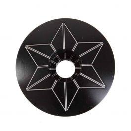 Capac furca SUPACAZ Star  - carbon (anodized)