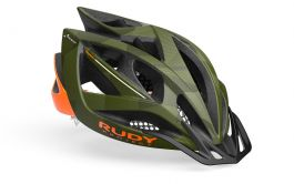 Casca RUDY PROJECT Airstorm MTB S-M 54-58 Olive Orange Camo