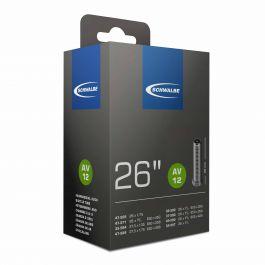Camera SCHWALBE AV12 26''/27.5'' 30/47-559/597 IB AGV 40mm