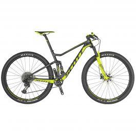 Bicicleta SCOTT Spark Rc 900 Worldcup M Negru Galben