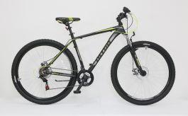 "Bicicleta ULTRA Nitro 29"" negru/gri/galben 440mm"