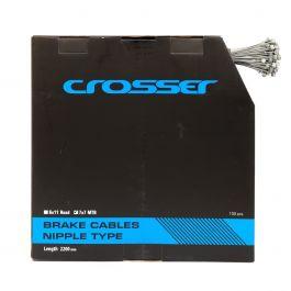 Cablu frana CROSSER 7*7*1.5mm 2200mm - Cutie 100buc