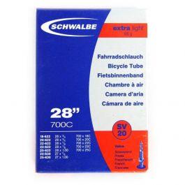 Camera SCHWALBE SV20 EXTRA LIGHT 28'' (18/25-622/630) EK 40mm