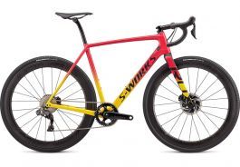Bicicleta SPECIALIZED S-Works Crux DI2 Gloss Golden Yellow/Vivid Pink/Black 52