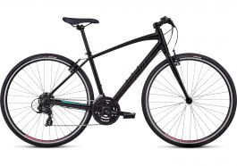 Bicicleta SPECIALIZED Sirrus V-Brake - Women's Spec - Tarmac Black / Gloss Acid Mint / Gloss Acid Pink XL