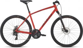 Bicicleta SPECIALIZED Crosstrail - Mechanical Disc - Satin Rocket Red/Limon/Black Reflective S