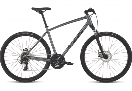 Bicicleta SPECIALIZED Crosstrail - Mechanical Disc - Satin Charcoal/Black/Black Reflective M