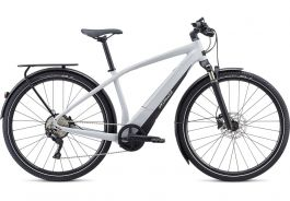 Bicicleta SPECIALIZED Turbo Vado 4.0 - Gloss Dove Grey/Black/Liquid Silver XL