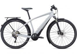 Bicicleta SPECIALIZED Turbo Vado 4.0 - Gloss Dove Grey/Black/Liquid Silver L